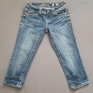 Miss Me crop jeans size 25